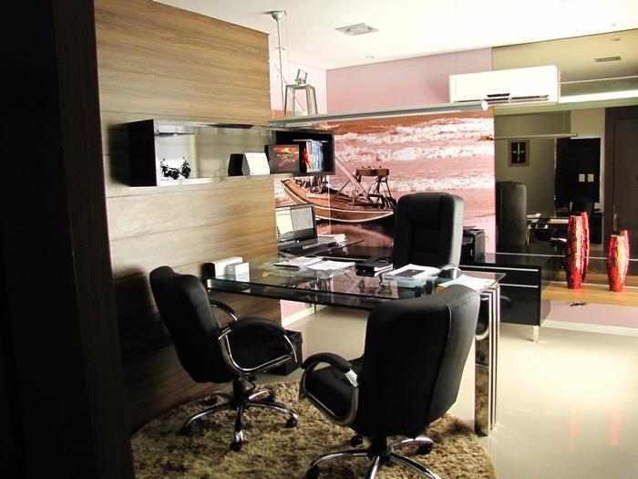 decoracao de interiores escritorio advocacia: Renovação de Escritório de Advocacia – 4R Arquitetura